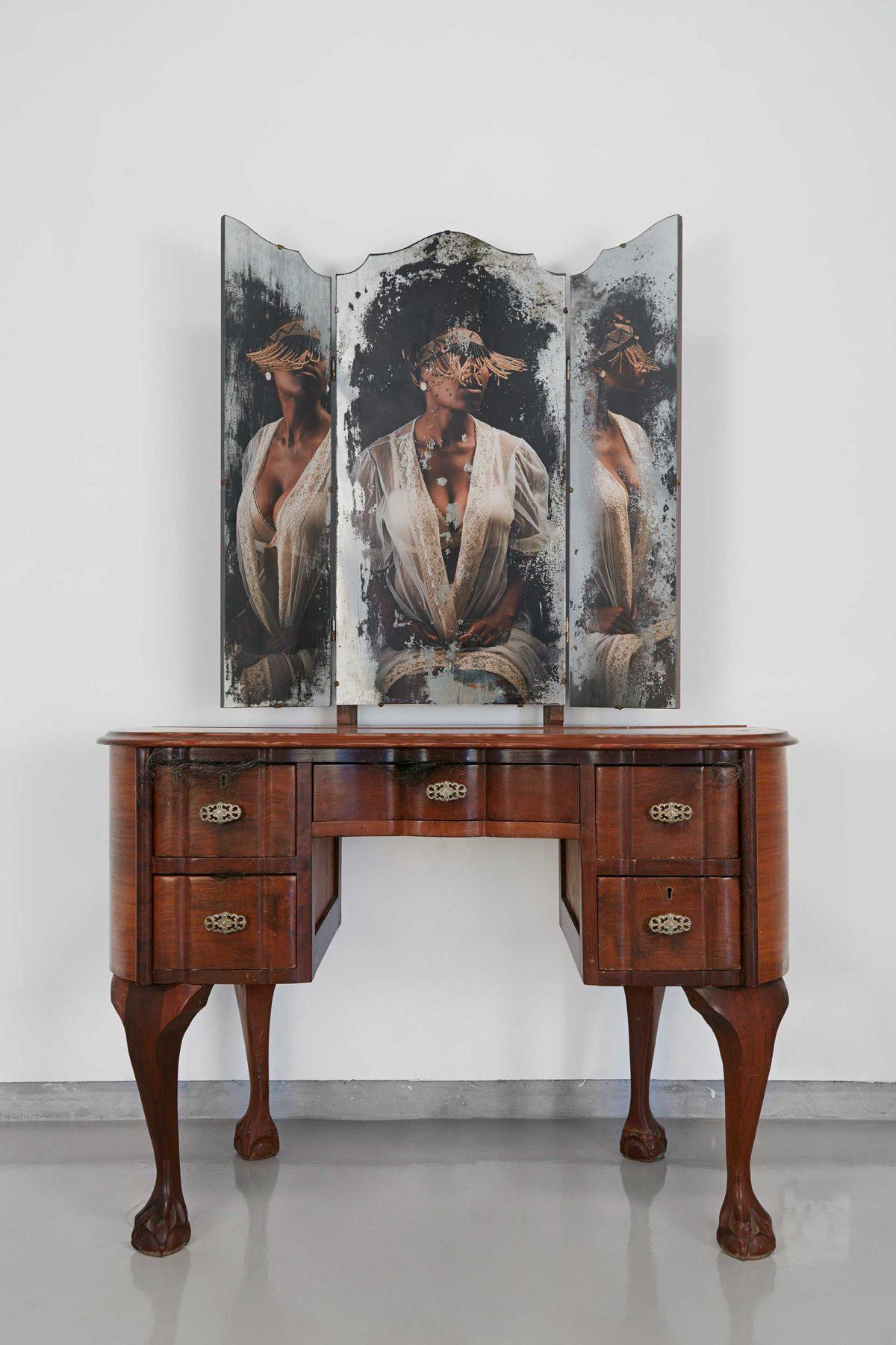 Sethembile Msezane, artist.